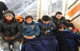 Ayvacık'ta 62 Suriyeli Kaçak Yakalandı