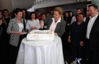 Başkan Uyar'a 4. Yıl Kutlaması