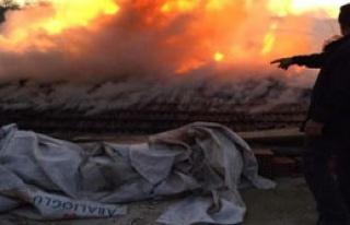 Orhaneli'de Korkutan Yangın