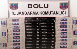 5 Bin 510 Paket Kaçak Sigara Ele Geçirildi