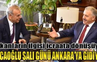 Kocaoğlu Salı Günü Ankara'ya Gidiyor