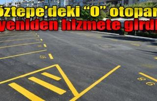 Göztepe'deki 'O' Otoparkı Yeniden Hizmete Girdi
