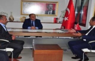 CHP'ye Türk-İş Ziyareti
