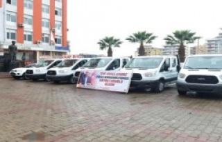 Çiğli'de Yeni Araçlar Hizmette
