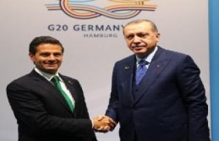Erdoğan, Nieto İle Görüştü