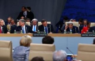 Erdoğan, Nato Zirvesi Akşam Yemeğine Katıldı