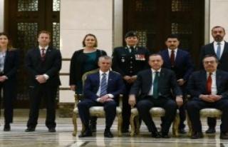 Cumhurbaşkanı Erdoğan'a Büyükelçiden Güven...