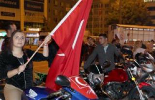 Motosikletli Grup Terörü Lanetledi