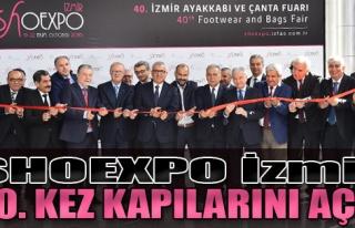 SHOEXPO İzmir, 40. Kez Kapılarını Açtı