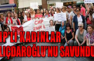 CHP'li Kadınlar Saldırılara Tepkili