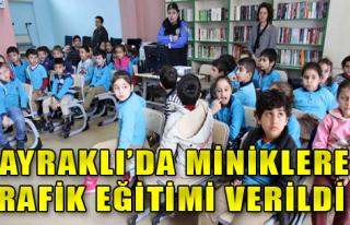 Bayraklılı Miniklere Örnek Farkındalık Eğitimi