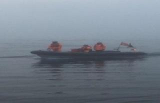 Denizde kurtarma operasyonu