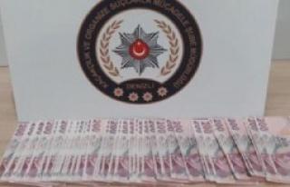 Denizli'de Sahte Banknota 1 Tutuklama