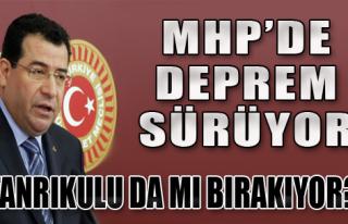 MHP'de Şimdi de Tanrıkulu Depremi
