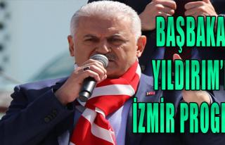 Başbakan Yıldırım'ın İzmir programı