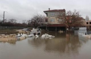 Edirne'yi Sağanak Yağmur Vurdu