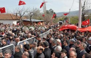Bursa, Şehidini Uğurladı