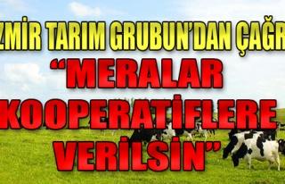 İzmir Tarım Grubu'ndan çağrı