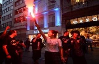 Gezi'nin 3. Yıldönümünde Taksim'de Eylem