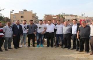 İzmir Çocuk Futbolu Festivali Bornova'da Başladı