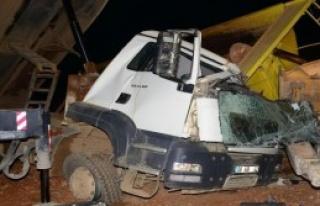 Otoyol İnşaatında Kaza: 1 Ölü
