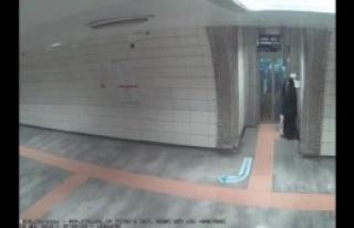 Metroda kadına saldırı iddiası