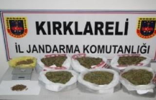 196 Kilo Esrara 4 Tutuklama