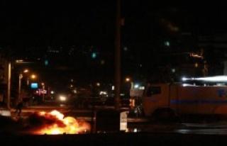 Göstericilere Polis Müdahale Etti