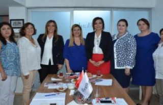 MHP'li Kadın Adaylardan EGİKAD'a Ziyaret