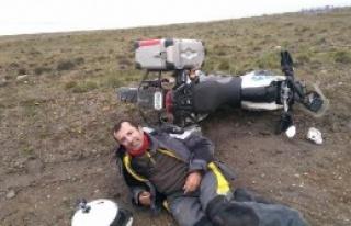 Türk Gezgin, Arjantin'de Kazada Yaralandı
