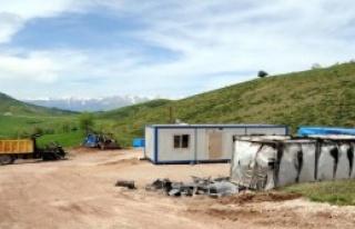 PKK, Ovacık'ta 3 İşçiyi Kaçırdı, Şantiyeyi...