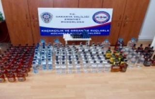 Sakarya'da Sahte İçki Operasyonu