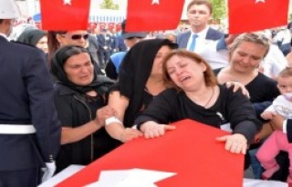 Şehit Polis Ercan Hırçın, Karabük'te Toprağa...