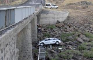 Siverek'te Kaza: 1 Ölü, 4 Yaralı