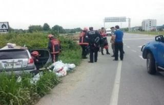 Tatile 4 Kilometre Kala Kaza: 1 Ölü, 3 Yaralı