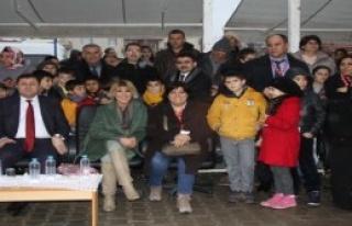 Uşak'ta Gülben Ergen'li Anaokulu Açılışı