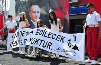 Atatürk çocukları engel tanımıyor