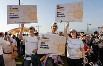 """Büyükşehir'den Kordon'da """"renkli"""" kampanya"""