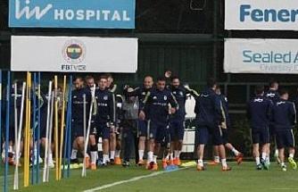 Fenerbahçe, Beşiktaş maçının hazırlıklarını tamamladı