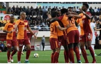 Galatasaray deplasmandan lider döndü