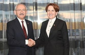 Kılıçdaroğlu ile Akşener arasında sürpriz görüşme!