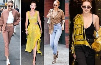 Gigi Hadid'in sokak stili